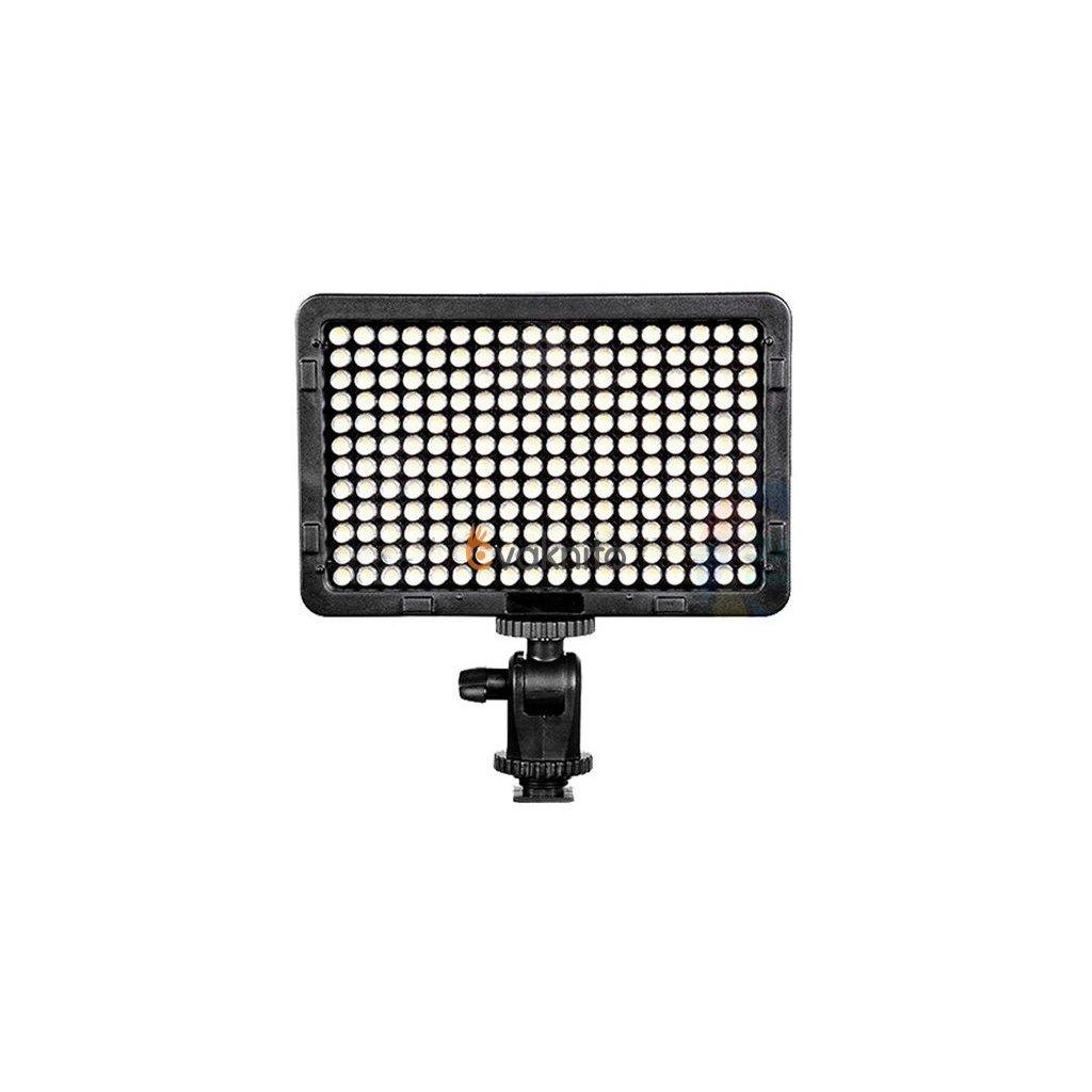 Fotografické panelové LED svetlo 3200 - 5600K - 216 LED diód