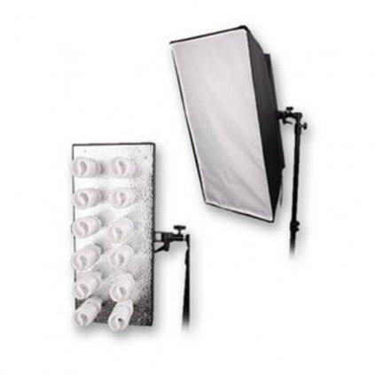 Držiak osvetlenia pre 12 svetelných špirálových svietidiel BRESSER MM-18