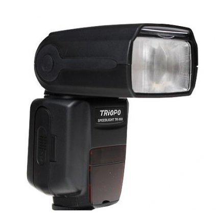 Externý blesk Triopo TR-988 DUAL pre Nikon / Canon s TTL