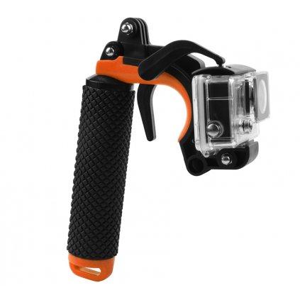 Tyčový držiak 2v1: pre telefón a športové kamery GoPro