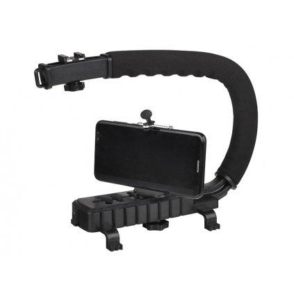 Video držiak X-GRIP - statív pre dynamické filmovanie s prídavným držiakom pre telefón (veľkosť M)