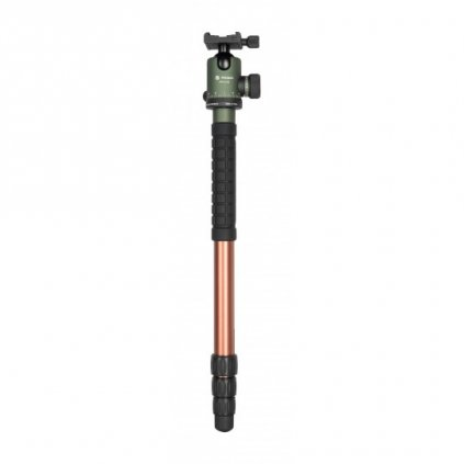 Tripod Fotopro X-go Chameleon with FPH-52Q ball head - green-brown