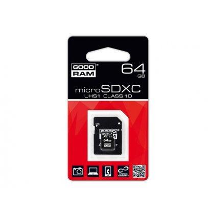 Pamäťová karta GoodRam - micro SDXC 64 GB class 10