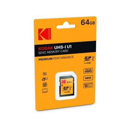 Pamäťová karta Kodak - SDXC 64 GB class 10 UHS-1 U1