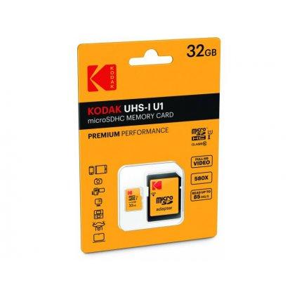 Pamäťová karta Kodak - micro SDHC 32 GB class 10 UHS-1 U1