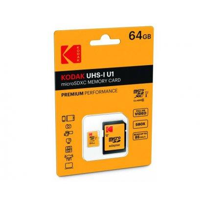 Pamäťová karta Kodak - micro SDXC 64 GB class 10 UHS-1 U1