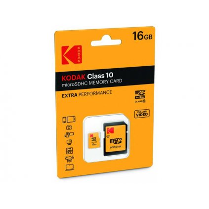 Pamäťová karta Kodak - 16 GB micro SDHC class 10
