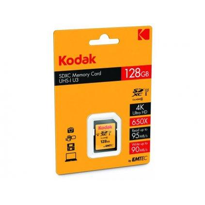 Pamäťová karta Kodak - SDXC 128 GB class 10 UHS-1 U3