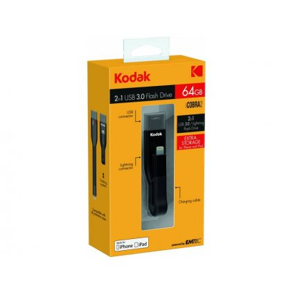 Kodak iCobra2 Flash Drive - 64 GB