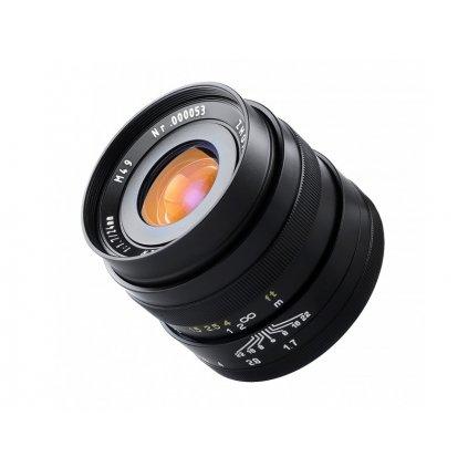 Objektív Mitakon Zhongyi Freewalker 24mm f / 1.7 pre Micro 4/3