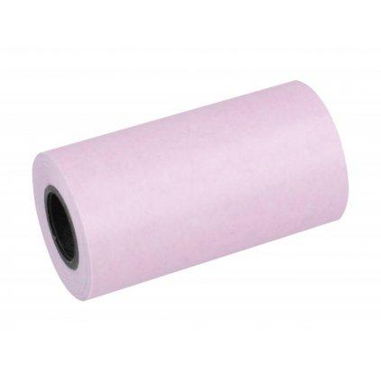 Tepelný papier Peripage nalepovací - ružový