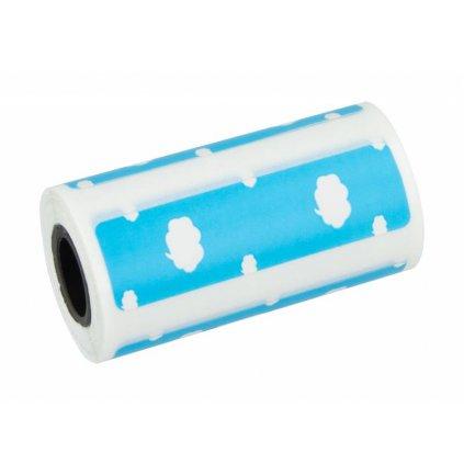 Tepelný papier Peripage nalepovací so vzorom - modrý