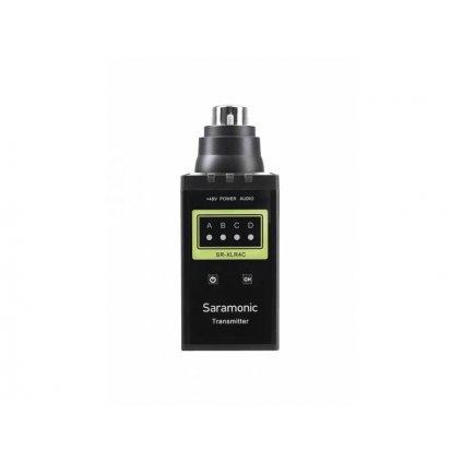 Vysielač Saramonic SR-XLR4C pre bezdrôtový audio systém SR-WM4C