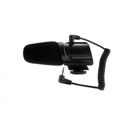 Kondenzátorový mikrofón Saramonic SR-PMIC3 pre fotoaparáty / videokamery s káblom Jack 3.5 mm TRS/TRS