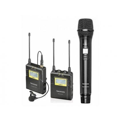 UHF bezdrôtový systém Saramonic UwMic9 RX9 + TX9 + HU9
