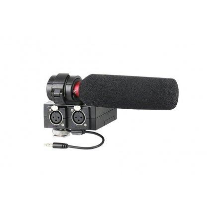 Audio adaptér Saramonic MixMic + smerový mikrofón Saramonic SR-NV5