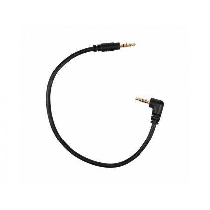 Audio kábel Saramonic SR-SM-C302 - adaptér z 3,5 mm jack na 3,5 mm jack (zahnutý)