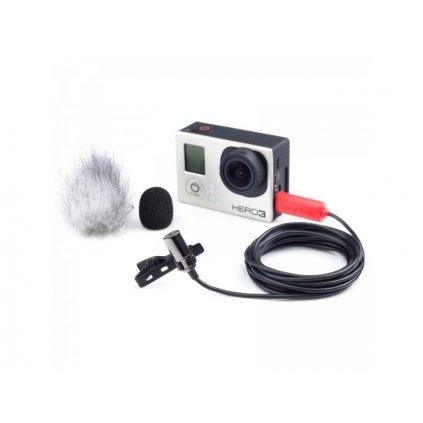 Klopový mikrofón Saramonic SR-GMX1 pre športové kamery GoPro Hero 3 / 3+ / 4