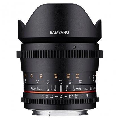 Samyang 16 mm T2.6 VDSLR lens - Sony E