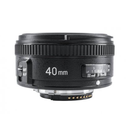 Objektív Yongnuo YN 40mm f / 2.8 pre Nikon F