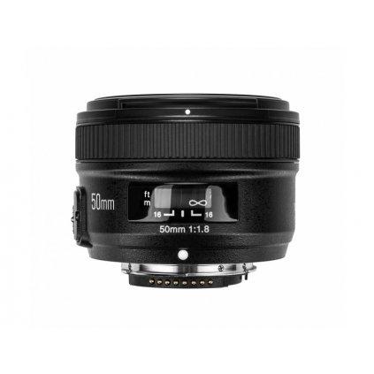 Objektív Yongnuo YN 50mm f / 1.8 pre Nikon F