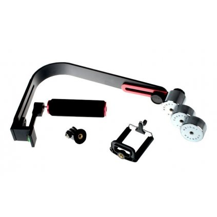 Stabilizačný držiak flycam + adaptér GoPro + držiak na telefón, model HS-2