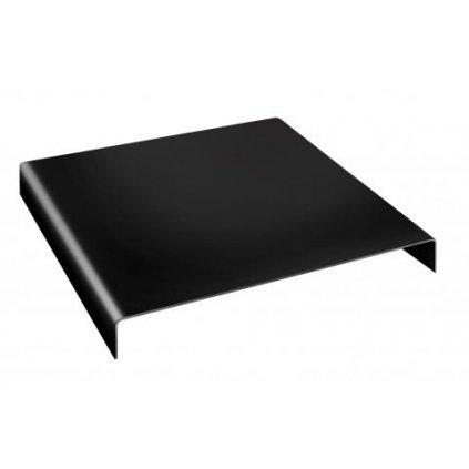 Akrylátový podstavec pre fotografovanie produktov 24 x 24 x 5 cm BRESSER BR-AR1 - čierny