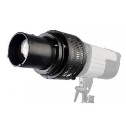 Optický komínkový reflektor s voštinovou mriežkou a farebnými / efektovými filtrami BRESSER M-23