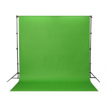 Konštrukcia + papierové fotopozadie 1,36x5,5m zelené