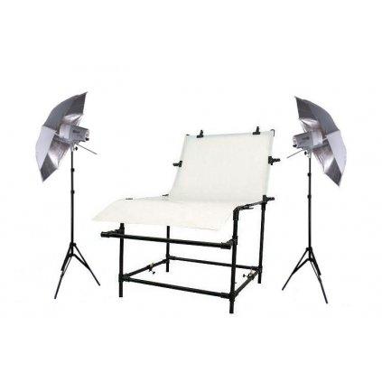 Set pre produktovú fotografiu s fotostolom