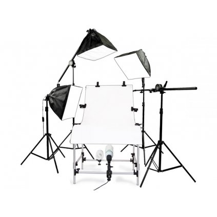 Profesionálny štúdiový set pre produktové fotografie