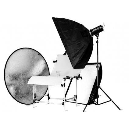 Štúdiový set pre fotografovanie produktov - pre veľké i malé objekty
