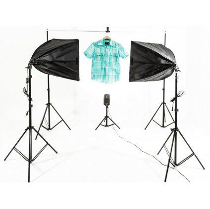 Štúdiový set pre fotografovanie oblečenia