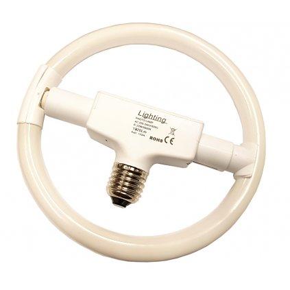 Kruhová žiarovka E27, 22 W, 5 500 K