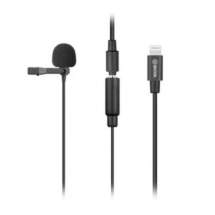 BOYA kondenzátorový mikrofón pre iOS zariadenia, model BY-M2