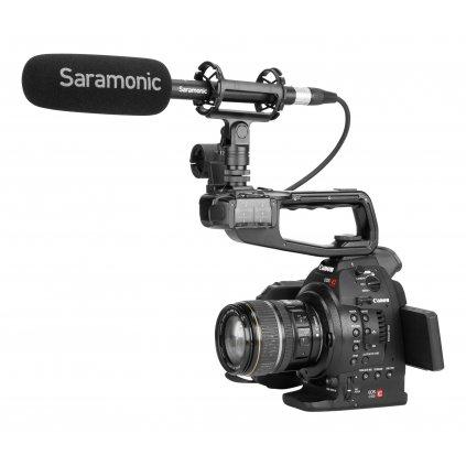 Brokovnicový mikrofón Saramonic SoundBird V1 s konektorom XLR