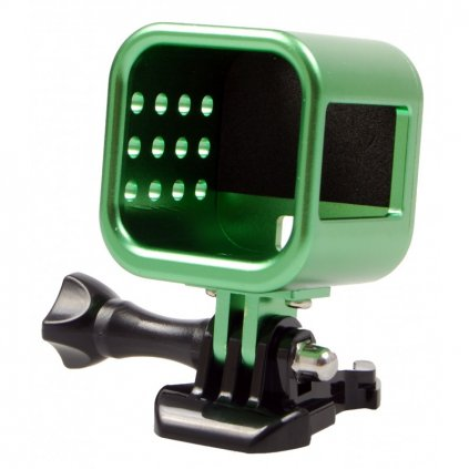 Hliníkový kryt na GoPro 4 Session, zelený