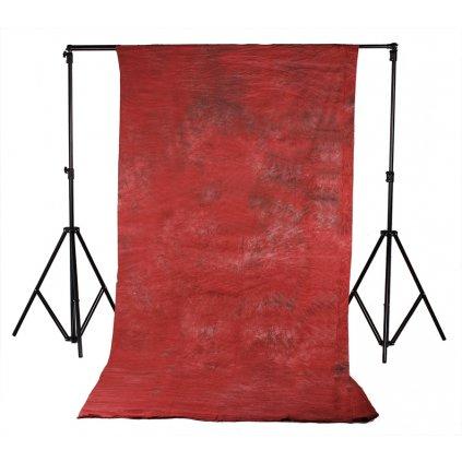 červené batikované fotopozadie