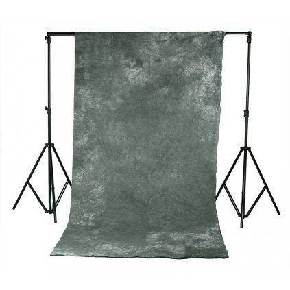 batikovaná tmavo šedá
