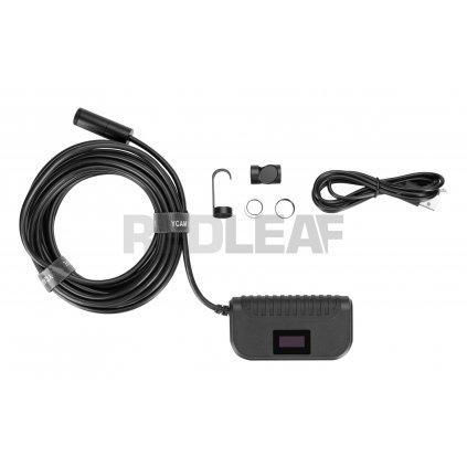 Endoskop WiFi Redleaf RDE 605WR sztywny kabel 5 m 02 HD