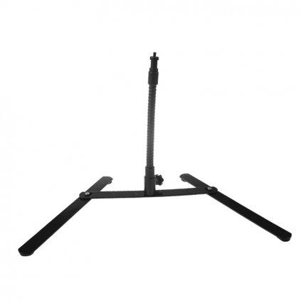 statyw stolowy gietkie ramie 26 cm z trzpieniem 16mm oraz gwintem 14 cala 4