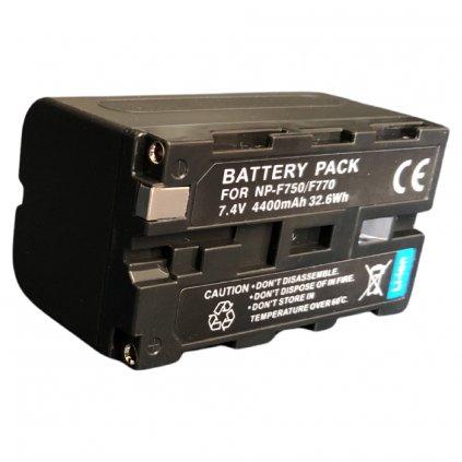 Batéria NP-F750 , 4400mAh 7,4V pre LED svetla YN 300 II a YN 600