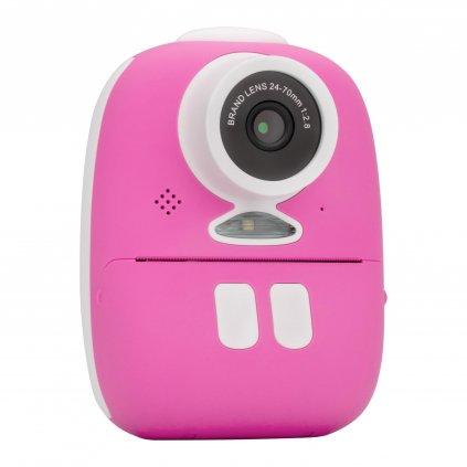 Redleaf BOB - Fotoaparát s tlačiarňou - rúžový
