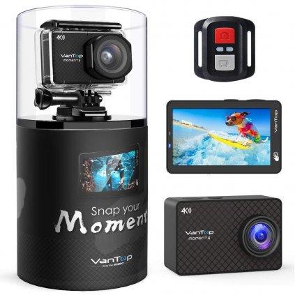 Outdoorová kamera VanTop Moment 4.4K a