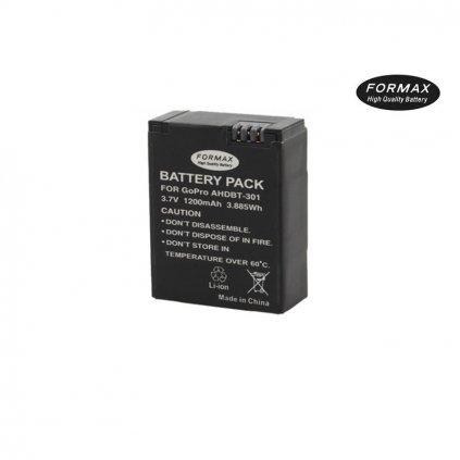 Batéria AHDBT-301, 1200mAh na GoPro Hero 3/3+ FORMAX