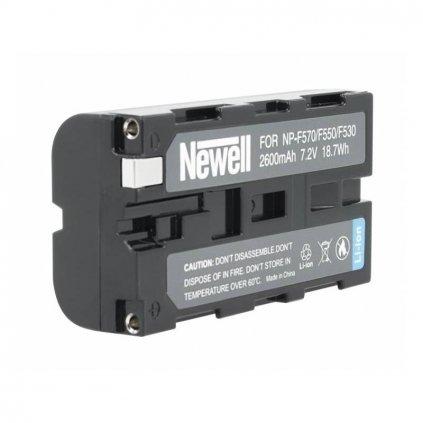Batéria Newell NP F570: F550: F530 , 2600mAh 7,2V pre fotoaparáty SONY