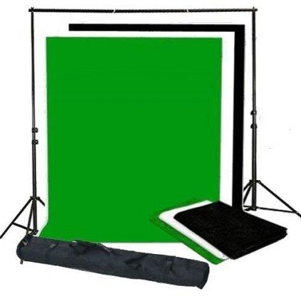 Držiak pozadia 260 x 300 cm + 3 x pozadie