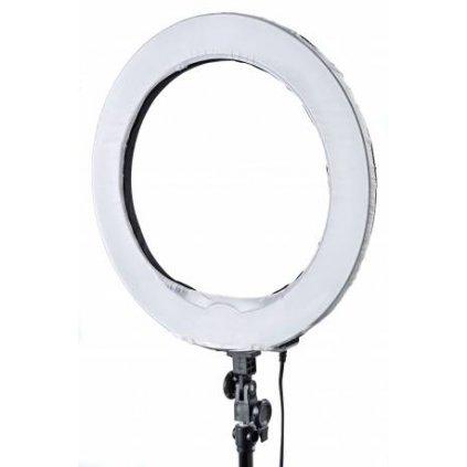 Kruhové osvetlenie denného svetla 75W - so stmievačom BRESSER MM-23