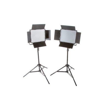 Štúdiový set foto-video LED 2x LS-1200 72W / 11,800LUX BRESSER
