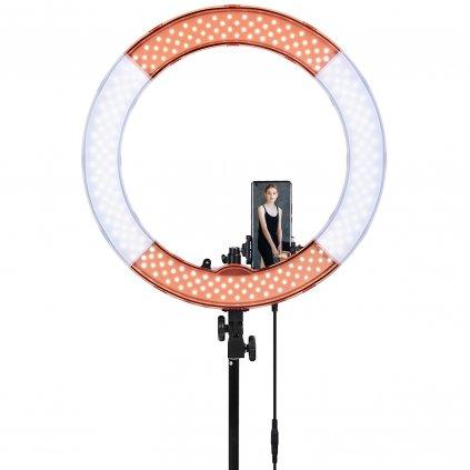 Kruhové LED svetlo 50W so stmievačom, 3200-5500K